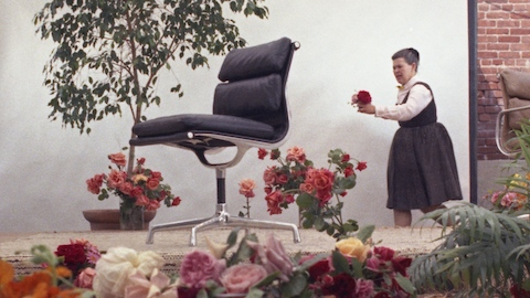 Select to learn more about the iconic chair that inspired the Eames 1969 film